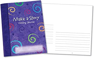 Learning Resources Make a Story Writing Journal, Set of 10,Assorted,7 x 9 in Make A Story