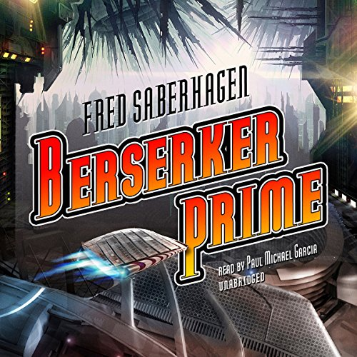 Berserker Prime audiobook cover art