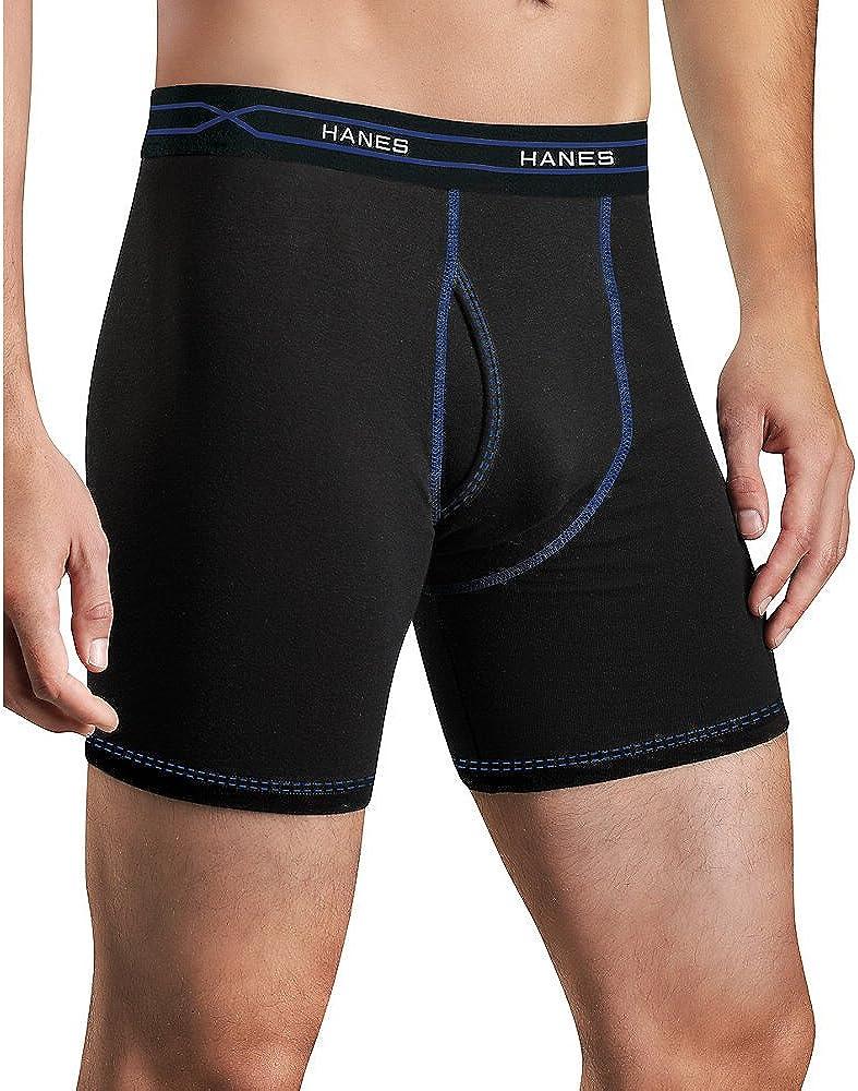 Hanes Men's X-Temp Performance Cool Boxer Briefs 3-Pack