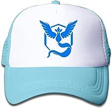 Unisex Kids Child Pokemon GO Articuno Mesh Snapback Hats