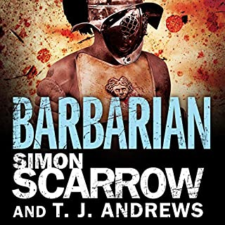 Arena: Barbarian audiobook cover art