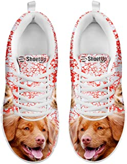 E/&E Solutions Kids Running Shoes Basset Hound01 Dog Casual Sneakers for Kids