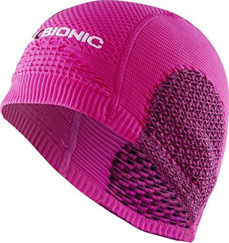 X-Bionic - SOMA Cap Light - O020232 - Bonnet - Mixte Adulte - Rose (Rose/Noir) - Taille: 2