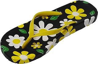 AUGA Girl Big Kid Cute Colorful Camp Pool Beach Swimming Shoe Sandals Flip Flop