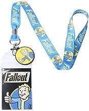 Hot Topic Fallout Blue Vault Boy Lanyard