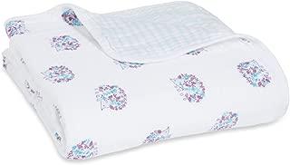 aden + anais Dream Blanket   Boutique Muslin Baby Blankets for Girls & Boys   Ideal Lightweight Newborn Nursery & Crib Blanket   Unisex Toddler & Infant Bedding, Shower & Registry Gift, Thistle