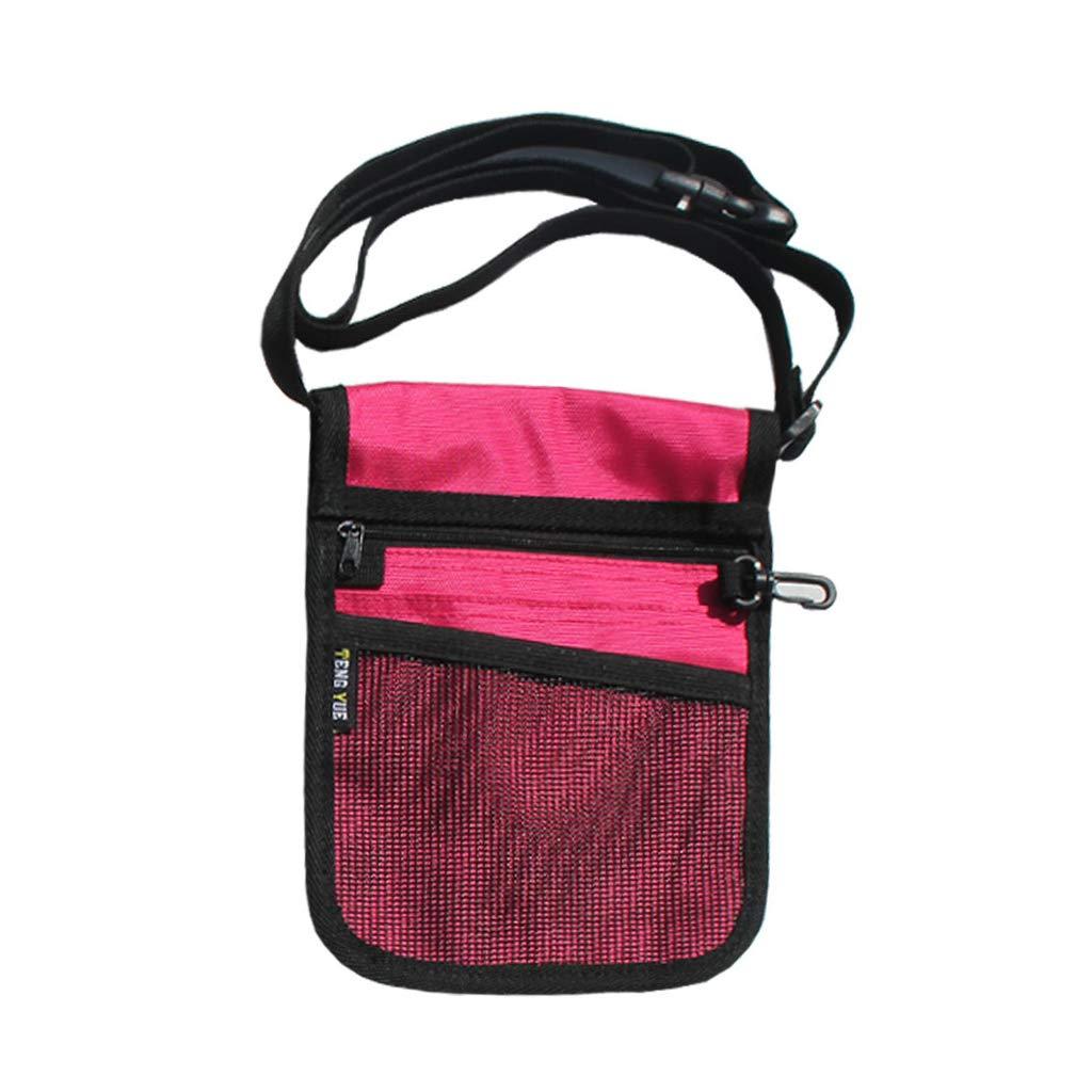 Anjuley Fanny Pack Organizador de cinturón de enfermería para Mujeres Enfermeras, Bolso de Hombro Rose Pink: Amazon.es: Hogar