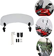 Coolsheep Motorcycle Adjustable Windshield Extension Spoiler Windscreen for BMW F800GS F700GS F650GS R1200GS R1200RT R1150RT R1100RT G310GS G650GS K1200 GT LT RS S K1300 S GT