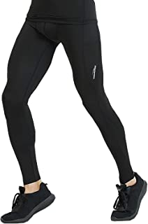 Legendfit Men's Thermal Compression Pants Fleece Lined Baselayer Workout Running Tights Sports Leggings Winter Gear