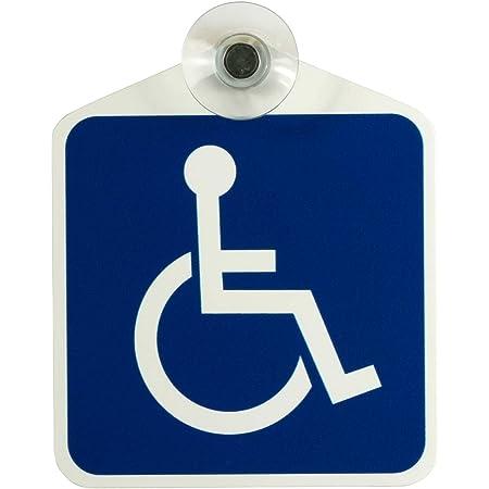 4 Stück Behinderten Aufkleber Rollstuhl Autoaufkleber Ø 9 5cm Behindertenschild Rollstuhlfahrer Wc Tür Sticker Mit Uv Schutz Für Außenbereich Innenbereich Baumarkt