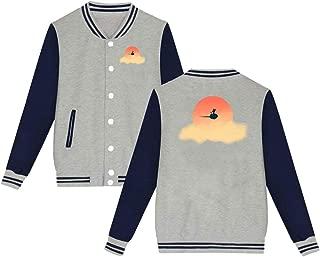 WMKAWA Men's Women Youth Baseball Jacket Uniform Coat Sport Jersey Outwear Plus Velvet