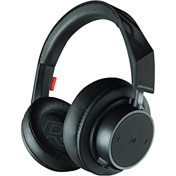 Plantronics 211138-99 Backbeat Go 600 Noise-Isolating Headphones, Over-The-Ear Bluetooth Headphones, Black