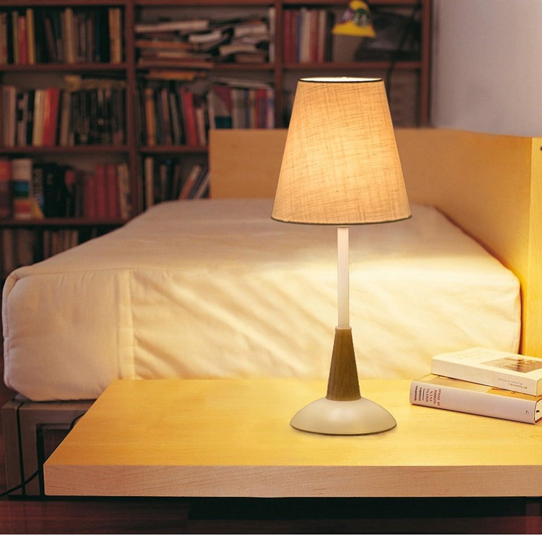 Guo Schlafzimmer Bett Kreative Einfache Moderne Warm Warm-Tuch Nordic Nachttischlampe (Farbe    1)