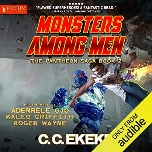 Monsters Among Men: The Pantheon Saga, Book 2
