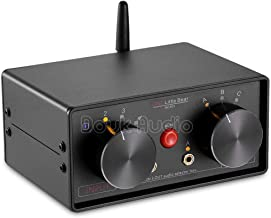 Nobsound Little Bear MC403 Mini 4-IN-3-OUT Audio Selector Box 3.5mm / RCA/Bluetooth Switcher Speaker/Amplifier Selector Splitter Box Bluetooth 4.0 Receiver Passive Preamp (3.5mm & RCA & BT)
