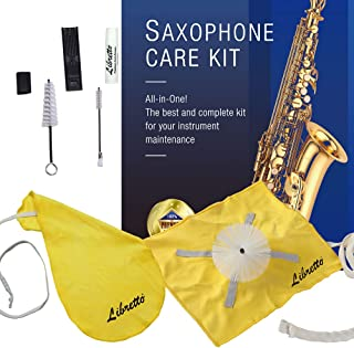 Libretto Saxophone Care Kit, Best to Clean and Extend the Life of your Instrument!