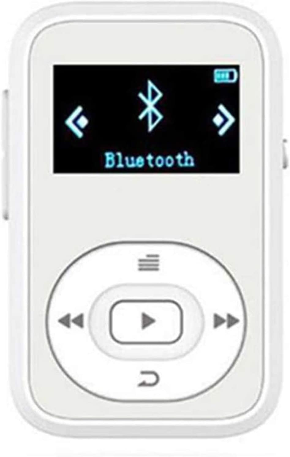 Mini Bluetooth MP3 Player, 22g Ultra Light 8GB Sport mp3 Music Player, Lossless sound quality, with Recorder, Clip, FM Radio, Support TF Card, Fast...