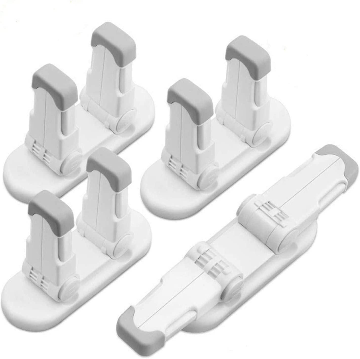 4-Pack Improved Childproof Door Indianapolis Mall Lever Fro Our shop OFFers the best service Toddlers Lock Prevents