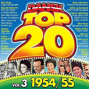 Dansk TOP 20 Vol. 3, 1954/55