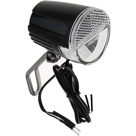 P4b Led Scheinwerfer 30 Lux Mit Sensor Für Nabendynamo Stvzo Schwarz Fahrrad Fahrradlicht Licht Led Frontscheinwerfer Front Scheinwerfer Sport Freizeit