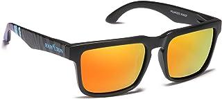 HAMYLTON - Gafas de sol polarizadas para hombre y mujer, protección UV400, ideales para running, montaña, bicicleta, moto, conducción, golf, pesca, playa, vela