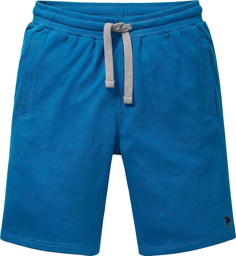 Kurze Freizeithose aus Baumwolle Herren Sweat-Bermudas Polo Assn Bequeme Jogginghose f/ür M/änner M U.S ausgezeichnete Passform Gr XXXL