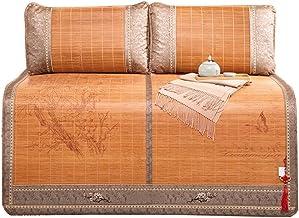 ZHI CHENG Summer Cooling Bamboo Mattress Sleeping mat Bamboo mat Bamboo Folding Pillow Single Double Bamboo mat Cool Mattr...