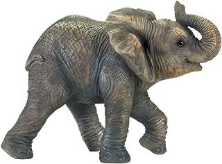 Zings & Thingz 57074089 Elephant Garden Statue, Gray