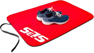 SLS3 Tri Mat | Triathlon Transition Mat | Biggest and Thickest Neoprene Tri Transition Mat On The Market | Designed by Athletes for Athletes