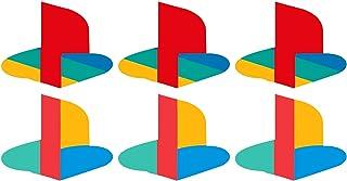 Adesivo Skin Cover Logo PS5 per personalizzare la tua Console - 2 Modelli - 6 pezzi - Made in Italy vinile