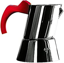 Mepra 1/3-Cup Coffee Maker, Red