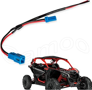 Camoo X3 Accessory Wiring Pigtail Power Port Pigtail Wiring Wire Harness Pigtail Connectors for Can-Am Maverick X3