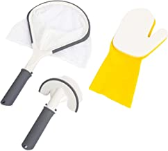 Bestway SaluSpa Hot Tub Spa All-in-One 3-Piece Cleaning Tool Accessory Set