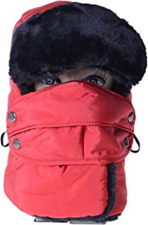 Cycling Cap Winter Thermal Warm Waterproof Ski Mask Hat Windproof Bandana Unisex Sport Outdoor Bicycle Cap