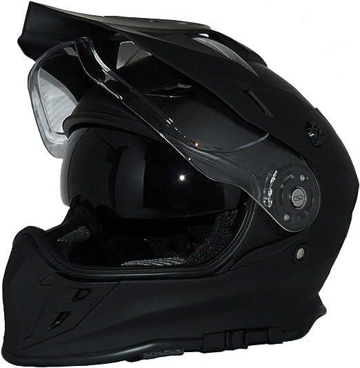 Protectwear Crosshelm Endurohelm Motorradhelm Mit Integrierter Sonnenblende Und Visier V331 Sm Auto