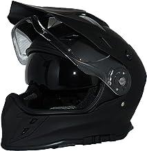 Protectwear Casco de cruz Casco de enduro Casco de moto con parasol y visera integrados V331-SM-XL