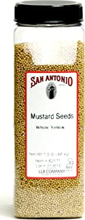 24 Ounce Premium Whole Yellow Mustard Seed, 1.5 Pound Seeds