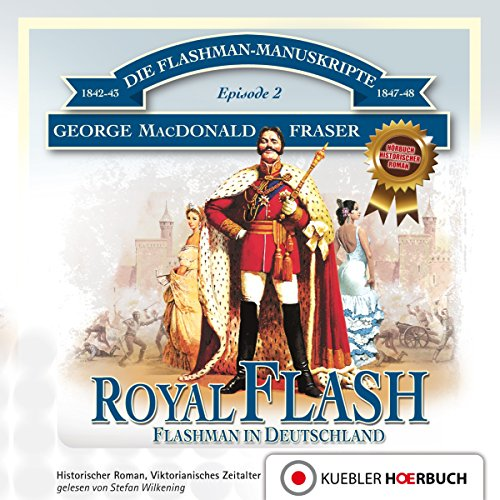 Royal Flash. Flashman in Deutschland cover art