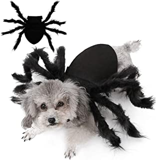 Malier Halloween Dogs Cats Costume Furry Giant Simulation شبیه سازی عنکبوت حیوانات خانگی لباس Cosplay لباس تا لباس هالووین حیوانات اهلی دکوراسیون لوازم جانبی دکوراسیون سگ گربه توله سگ