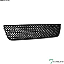 Topline Autopart Black Mesh Front Lower Bumper Grill Grille ABS For 06-13 Chevy Impala / 14-16 Impala Limited / 06-07 Monte Carlo