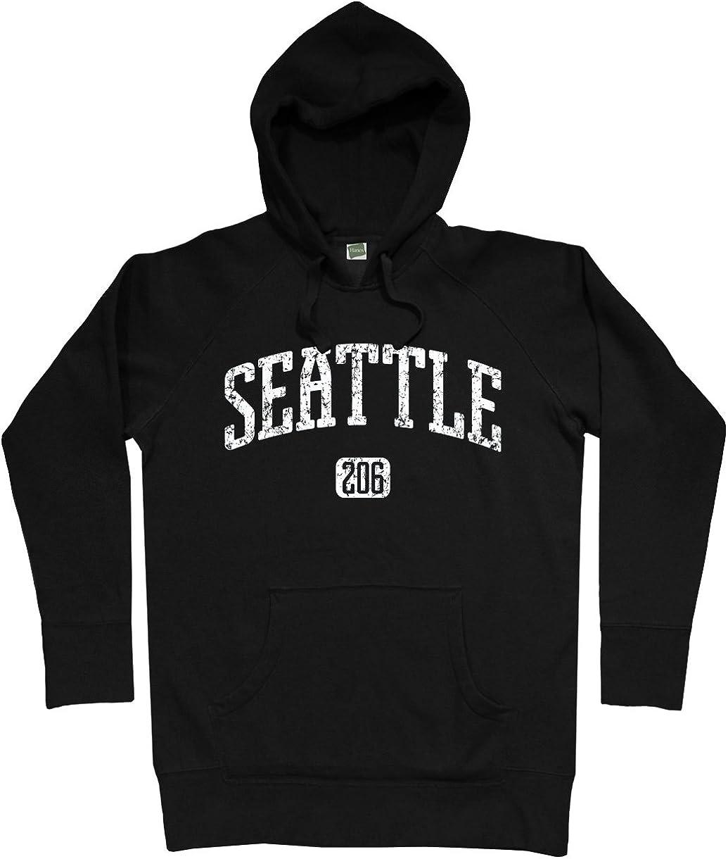 Smash Transit Men's gift Hoodie 206 Seattle In a popularity