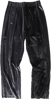 Luźne spodnie męskie, kolorowe spodnie dresowe męskie w stylu hip-hopowym Elastyczność Można prać i nie marszczyć się Spod...