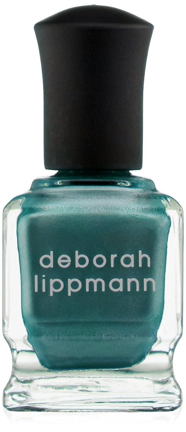 雪親指消毒剤[Deborah Lippmann] デボラリップマン アイルテイクマンハッタン I'LL TAKE MANHATTAN 15mL とても乾きが速く筋になりにくいクロームシリーズ。 大胆で鮮やかな色が勇気と自信を漂わせる 魅力的なテールグリーン