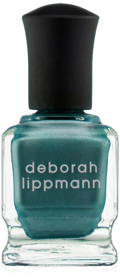 敬の念トリム額[Deborah Lippmann] デボラリップマン アイルテイクマンハッタン I'LL TAKE MANHATTAN 15mL とても乾きが速く筋になりにくいクロームシリーズ。 大胆で鮮やかな色が勇気と自信を漂わせる 魅力的なテールグリーン