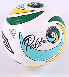 soccer ball signed by pele
