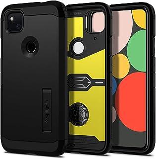 Spigen Tough Armor Designed for Google Pixel 4a Case (2020) - Black
