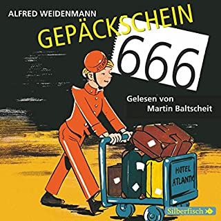 Gepäckschein 666                   Autor:                                                                                                                                 Alfred Weidenmann                               Sprecher:                                                                                                                                 Martin Baltscheit                      Spieldauer: 4 Std. und 49 Min.     42 Bewertungen     Gesamt 4,6