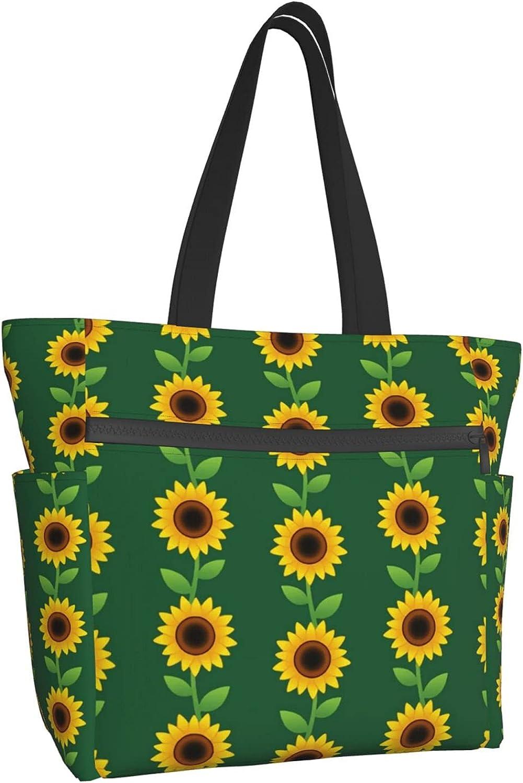 Women Tote Bag Aesthetic Indefinitely Beautiful La Handbag favorite Shoulder Sunflower