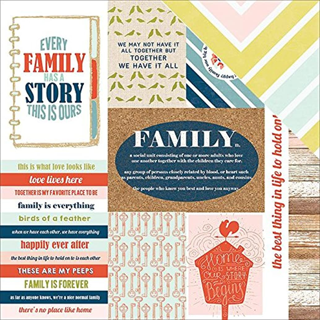 Paper House Productions Family Tags Paper Craft Product (15 Pack), Piece