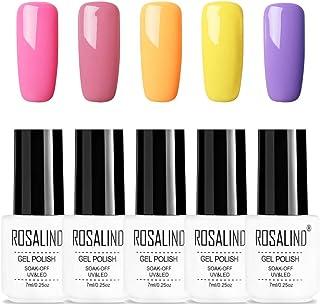 ROSALIND 5 * 7 ml colores serie esmalte de uñas de gel